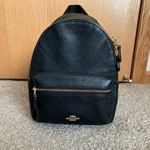 Mini coach backpack